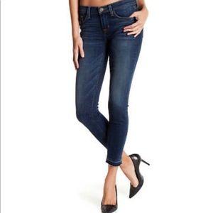 Hudson Krista Ankle Super Skinny Raw Hem Jeans